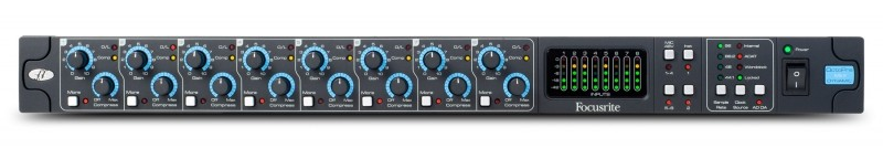Focusrite OctoPre Mk II DYNAMIC channel strip